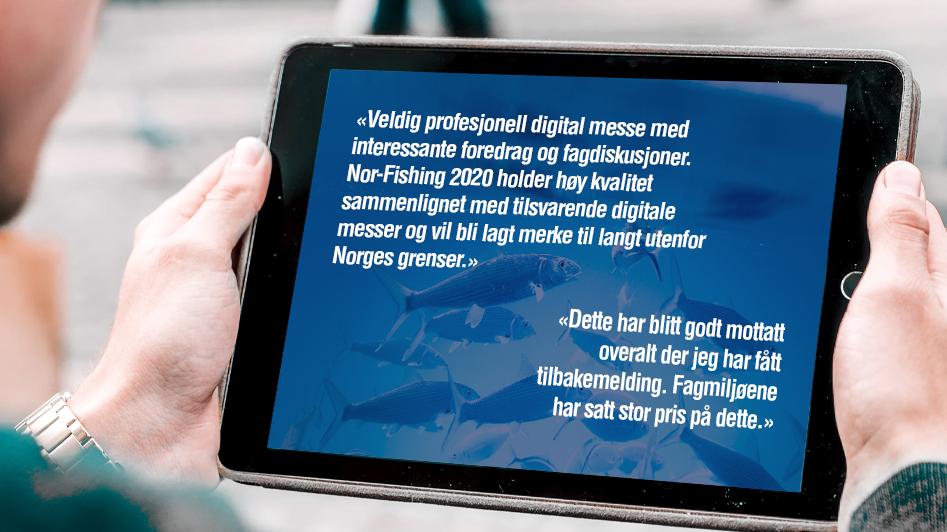 Så mange fikk med seg Nor-Fishing Digital 2020